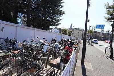 京急田浦駅自転車等駐車場